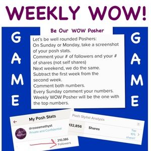 Weekly Wow Sunday Numbers Needed